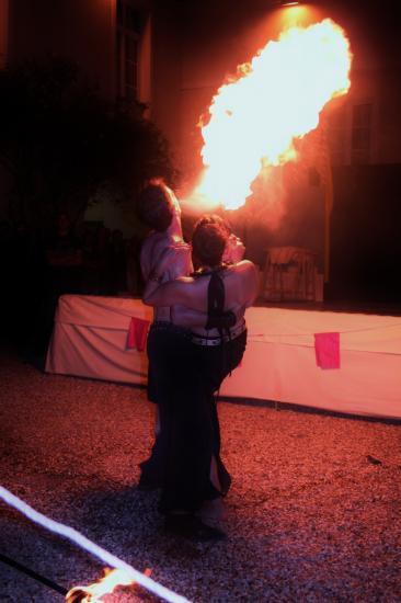 feu et romantisme